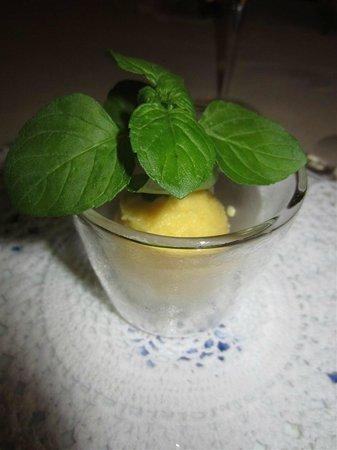 Al Sorriso : Sour passion fruit sorbet