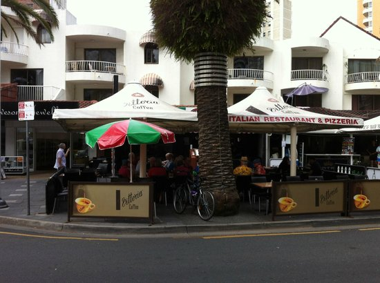 Costa D'oro Italian Restaurant & Pizzeria: at the front