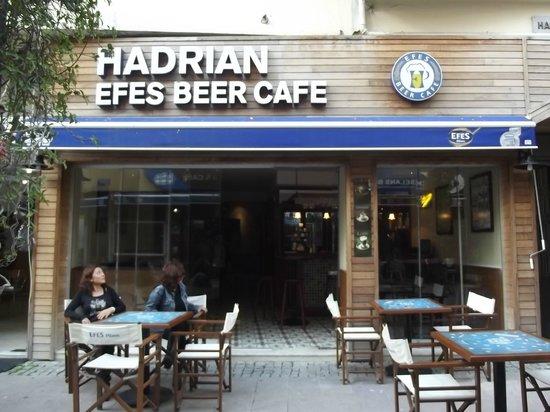 Hadrian Cafe bar: hadrian