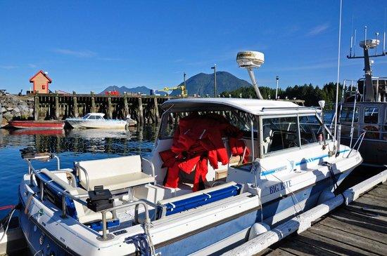 "Adventure Tofino B&B: ""Unser"" Ausflugsboot"