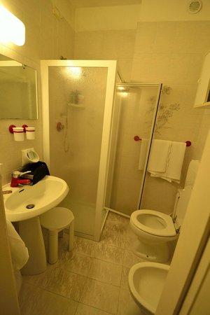 Hotel Palme & Suite: badkamer