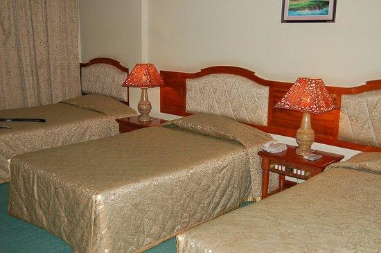 Dragon Royal Hotel: the room