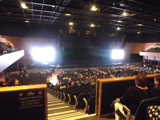 Bournemouth International Centre: View from the balcony seats