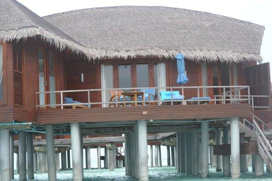 Anantara Dhigu MaldivesResort: Overwater Villa lagoon view suite#103