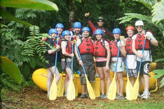 Quepos, Costa Rica: Rafting Crew
