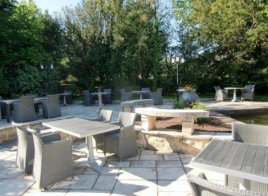 Villa Augusta : terrasse