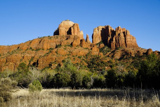 A Sunset Chateau: Cathedral Rock