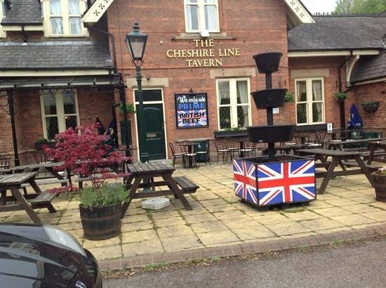 The Cheshire Line Tavern: Add a caption