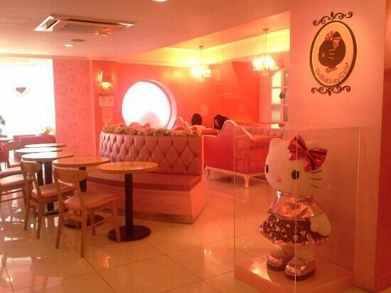 The Interior Decor Hello Kitty Picture Of Hello Kitty Cafe Hong