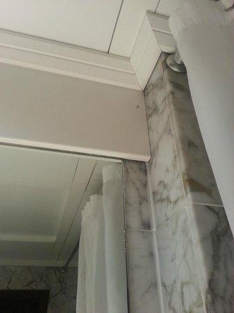 Conference Florentia Hotel: Formiche nello specchio del bagno (4)