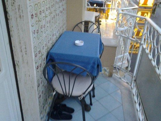 Hotel 7 Bello: balcone della stanza