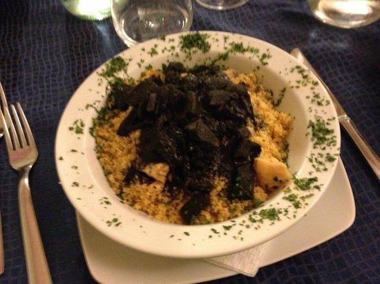 Antiche Scale : Il piatto di cous-cous al pesce