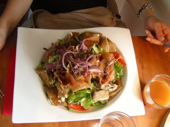 L'Ardoise: salade