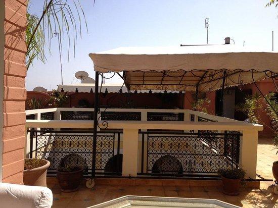 Riad Lena & SPA: Roof again