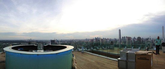 Octave Rooftop Lounge and Bar: top deck 360 deg view