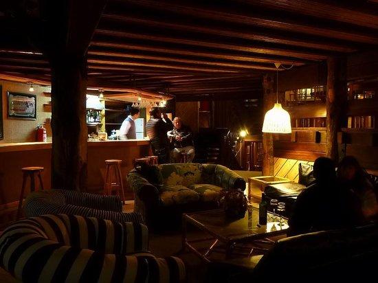 Hotel Antillanca: the cozy bar