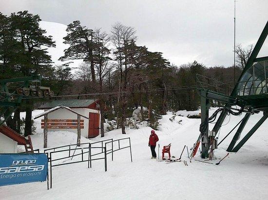 Hotel Antillanca: the base of the ski slopes