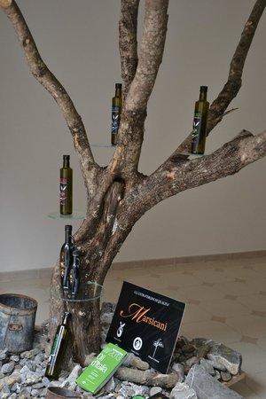 Frantoio Marsicani: Albero di ulivo carico di buoni frutti ideato da Paolo Vallone