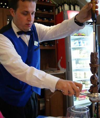 Monumental Grill : Brochette de boeuf traditionnelle de Madère