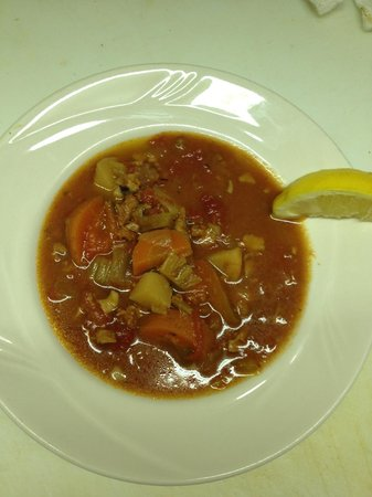 City Hall Cafe & Grille: Conch Chowder
