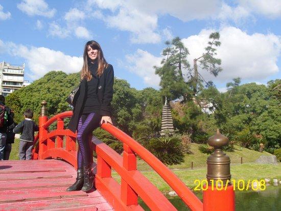 El lago los arboles el puente fotograf a de jardin for Arboles jardin japones