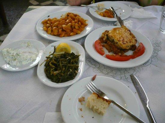 Rozalia : Selection of dishes