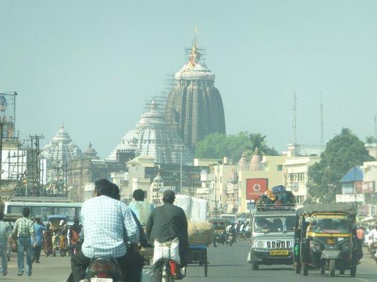 Sri Mandir from Grand Road,Puri