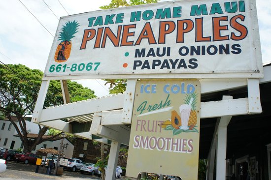 Take Home Maui: sign