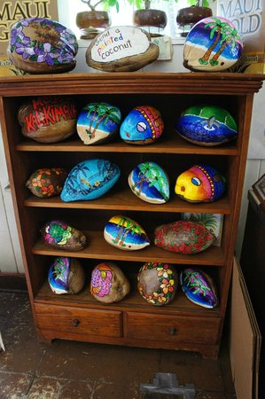 Take Home Maui: painted coconut