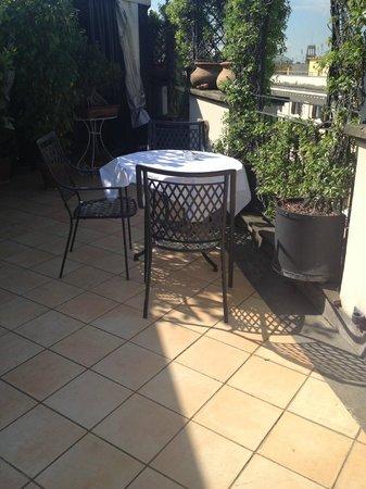 Hotel Isa: Dachterrasse