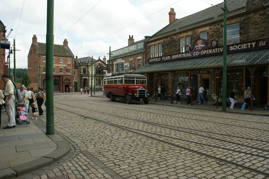Beamish Museum: old streets