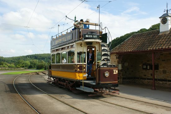 Beamish Museum: jump aboard