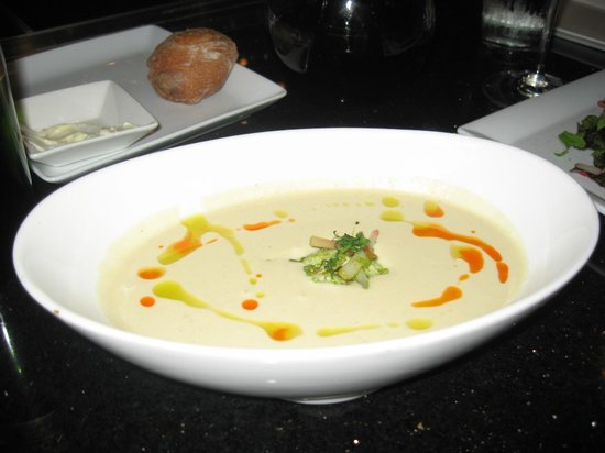 taylors kitchen white gazpacho soup - Taylors Kitchen