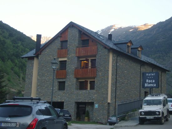 Roca Blanca: not a good pic but a great hotel