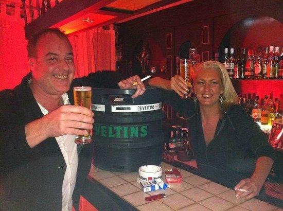 Claudia's Bar: before the smoking ban :D