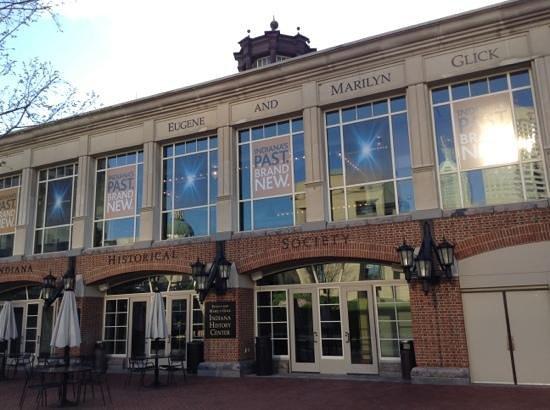 Indiana Historical Society : Lovely patio