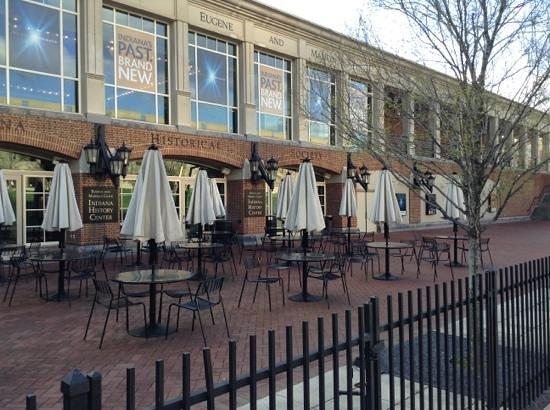 Indiana Historical Society: Lovely patio