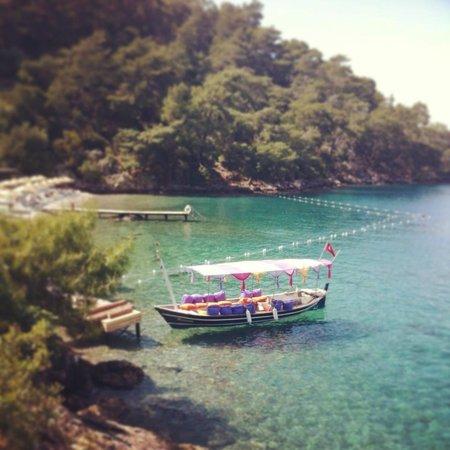 Hillside Beach Club: Serenity Beach & boat ride from here to main beach