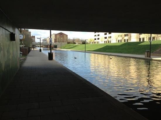 Indiana Historical Society : Canal path at the museum