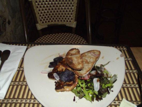 """Au P'tit Etal : foie gras poilé """"iresistible"""""""