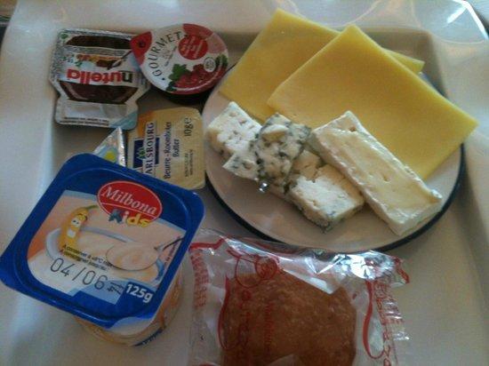 Le Centenaire: Frühstück