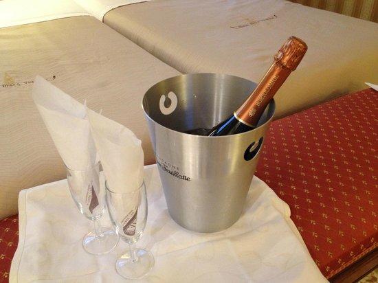 Hotel Bella Venezia: Cadeau de bienvenue