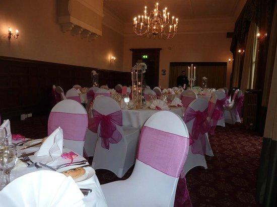 Mercure Burton Upon Trent Newton Park: The wedding venue