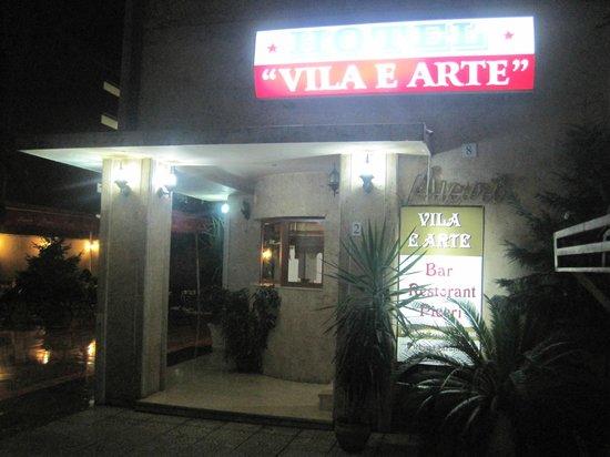 Hotel Vila e Arte : Entrata