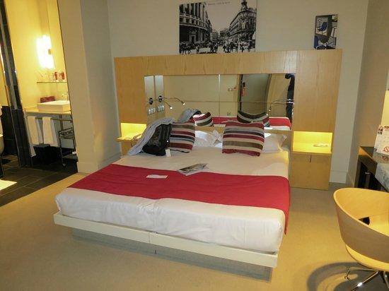 Hotel Room Mate Alicia: Nuestro habitación