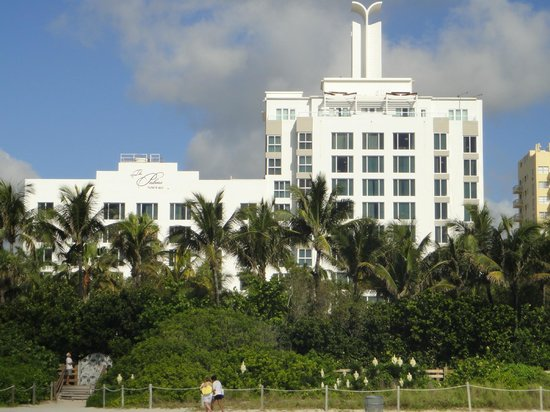 The Palms Hotel & Spa: View from beach