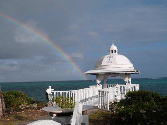 Paradisus Rio de Oro Resort & Spa: Beautiful rainbow