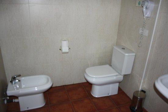 Hotel Els Encantats: baño habitacion