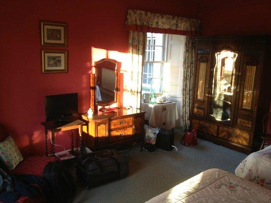 West Plean House: Notre chambre,