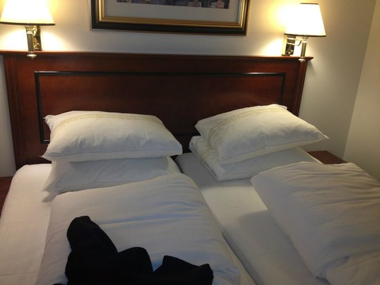 Thon Hotel Opera: cama